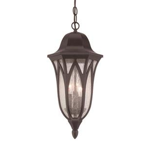 Acclaim Lighting Milano 19.50-In x 9.00-In Oil Rubbed Bronze 3 Light Hanging Outdoor Lantern