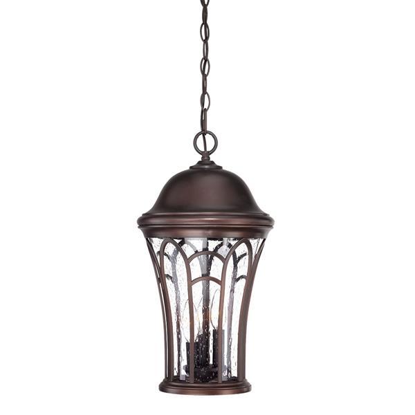 Acclaim Lighting Highgate 19.25-In x 10.50-In Architectural Bronze 3 Light Hanging Outdoor Lantern