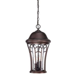 Acclaim Lighting Highgate 19.25-In x 10.50-In Architectural Bronze 3 Light Hanging Outdoor Lantern