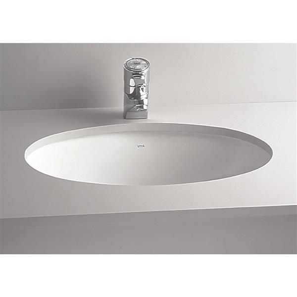 """Cheviot Undermount Bathroom Sink - 16 3/4"""" x 12 3/4"""" - White"""