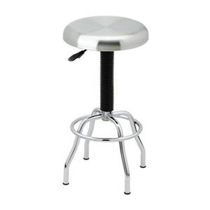 Vancouver Classics Stainless Steel Top Pneumatic Work Stool,