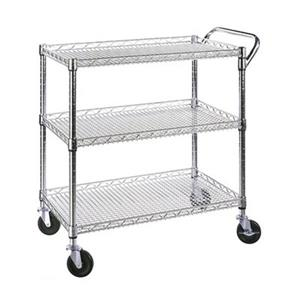 Vancouver Classics SHE18304BZ 3-Shelf Ultra Zinc Commercial