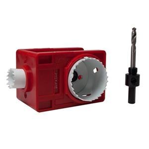 EAB Tool Co. Door Lock Installation Hole Saw Kit for Metal,1