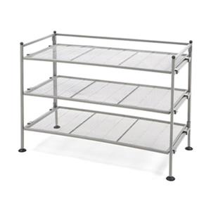Vancouver Classics SHE99905 3-Tier Iron Shoe/Utility Rack,SH