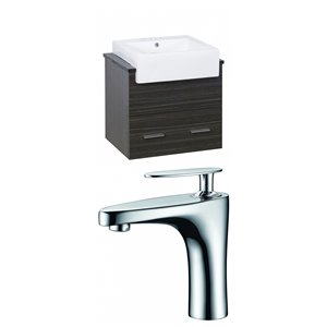 Xena Farmhouse Vanity Set  - Single Sink - 25.25