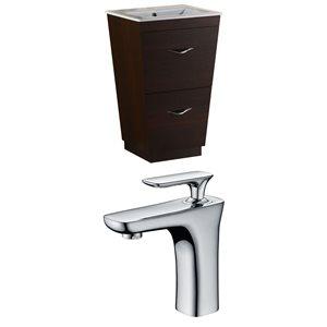 Vee Vanity Set  - Single Sink - 23.75