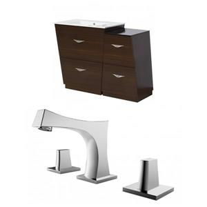 Vee Vanity Set  - Single Sink - 37.75