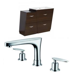 Vee Vanity Set  - Single Sink - 40.5