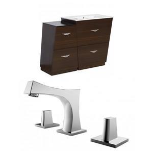 Vee Vanity Set  - Single Sink - 40.5