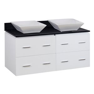 Xena Quartz Vanity Set  - Double Sink - 48