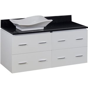 Xena Quartz Vanity Set  - Single Sink - 48