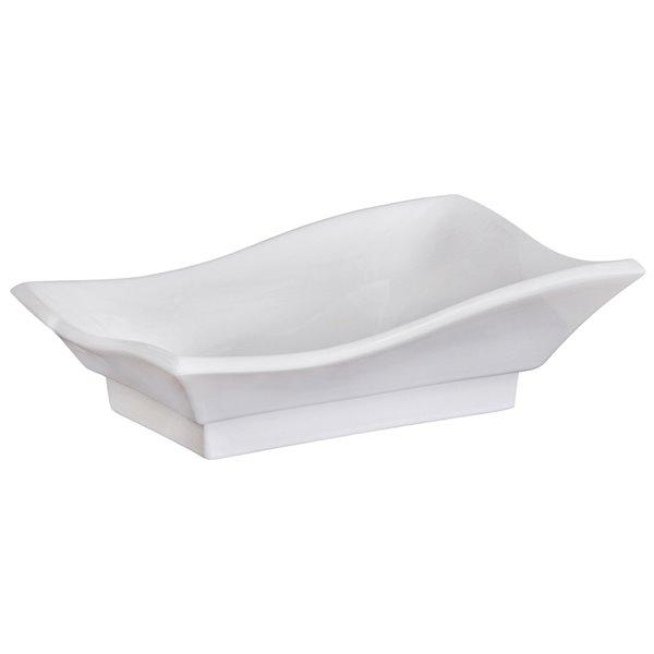 "Ensemble de vasque, 20"" x 20"", blanc"