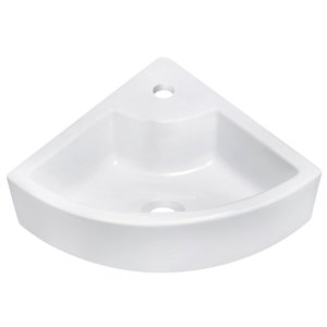 "American Imaginations Above Counter Vessel Set - 26.25"" x 25"" - White"