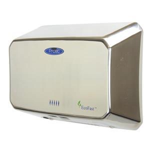 Sèche-mains compact à haute vitesse, chrome