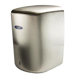 Sèche-mains à haute vitesse, acier inoxydable