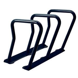 Support à vélos, 6 vélos, noir