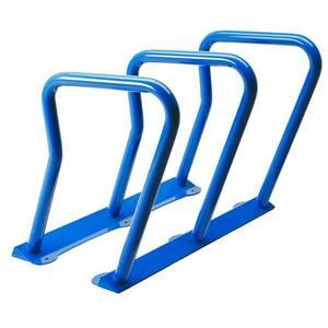 Support à vélos, 6 vélos, bleu