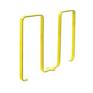 Bike Rack - 5 Bikes - Yellow