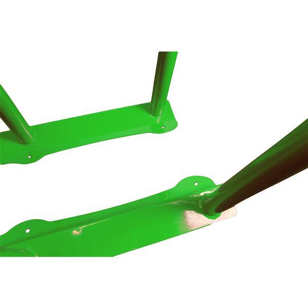 Frost Bike Rack - 6 Bikes - Green