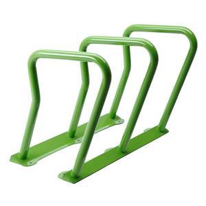 Support à vélos, 6 vélos, vert