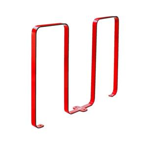 Bike Rack - 5 Bikes - Red