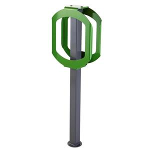 Frost Bike Rack - 2 Bikes - Green