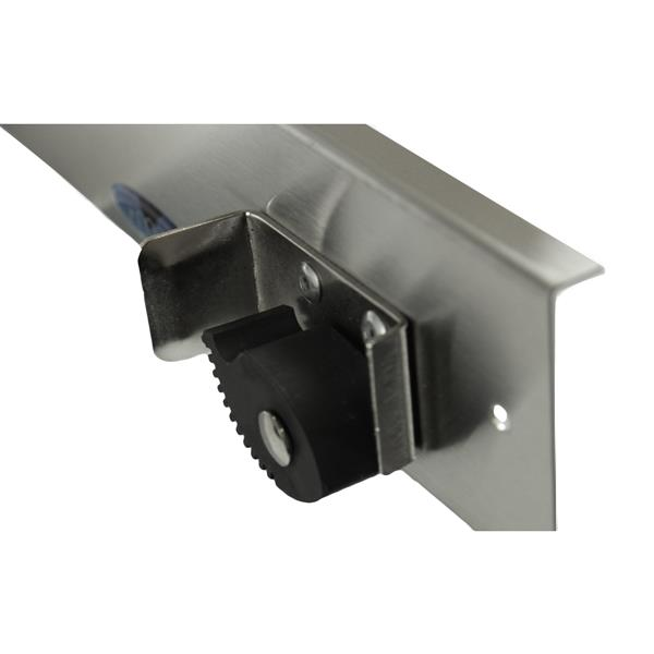 Frost Mop And Broom Holder - Stainless Steel