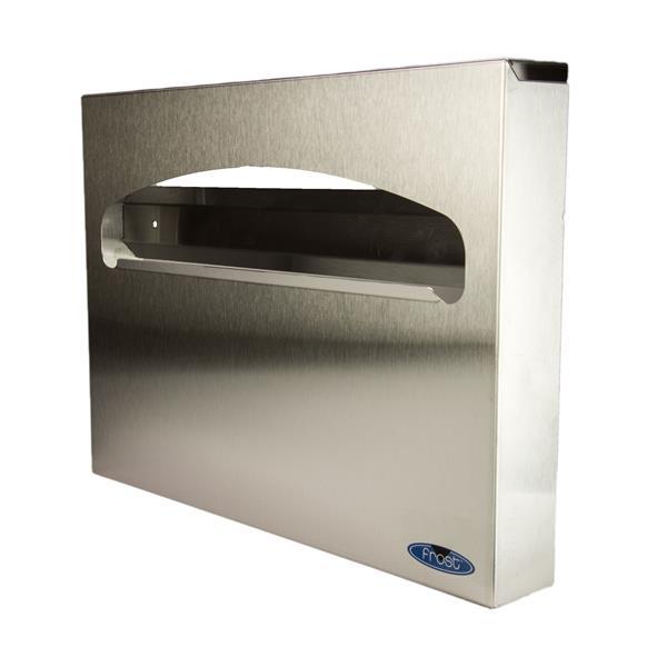 Distributeur de couvre-sièges de toilette, acier inoxydable