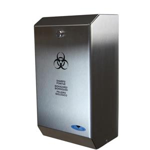 Biomedical Disposal Receptacle - Stainless Steel