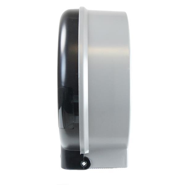 Distributeur double de papier hygiénique géant, noir