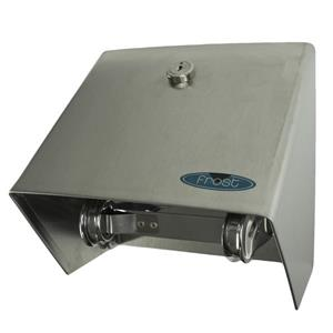 Frost Toilet Paper Dispenser With Hood - Stainless Steel