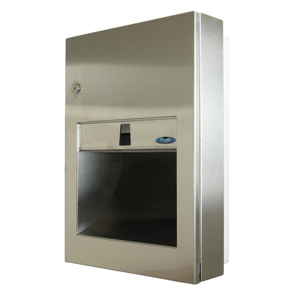 Frost Semi-Recessed Paper Towel Dispenser - Stainless steel