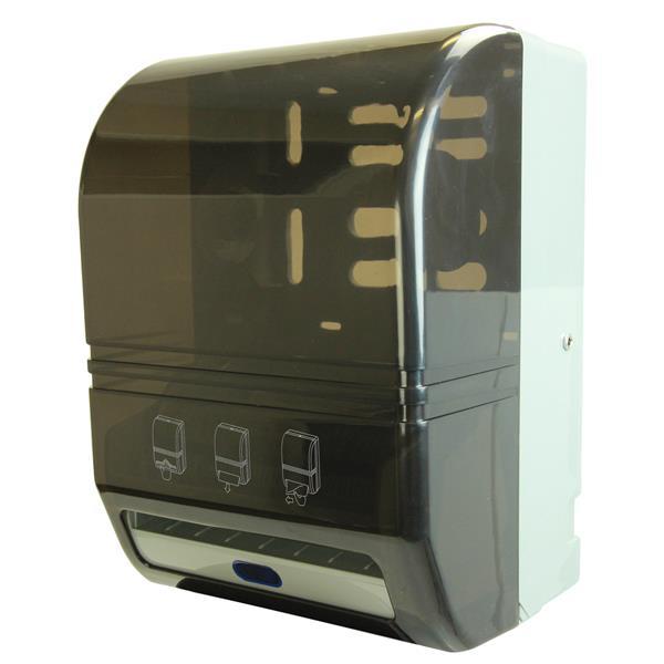 Distributeur automatique de serviettes en papier, noir