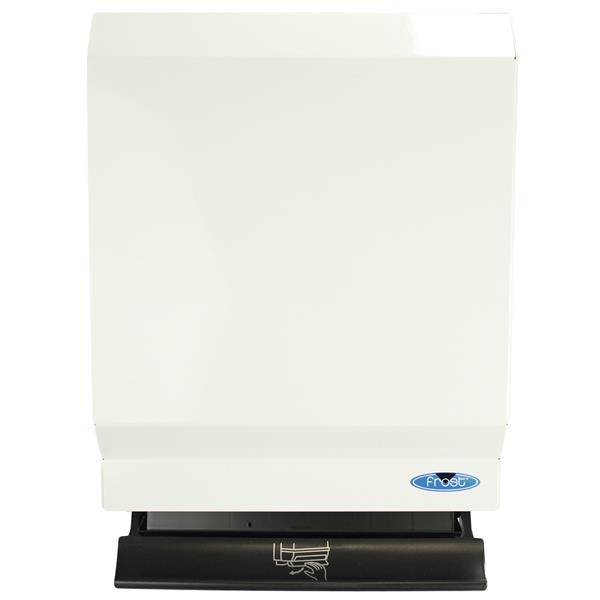 Distributeur de serviettes en papier à push bar, blanc