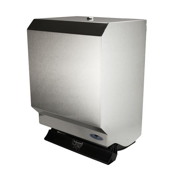 Frost Push Bar Paper Towel Dispenser - Stainless steel