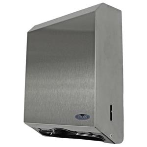 "Frost Multifold And ""C"" Fold Paper Towel Dispenser - Stainless"