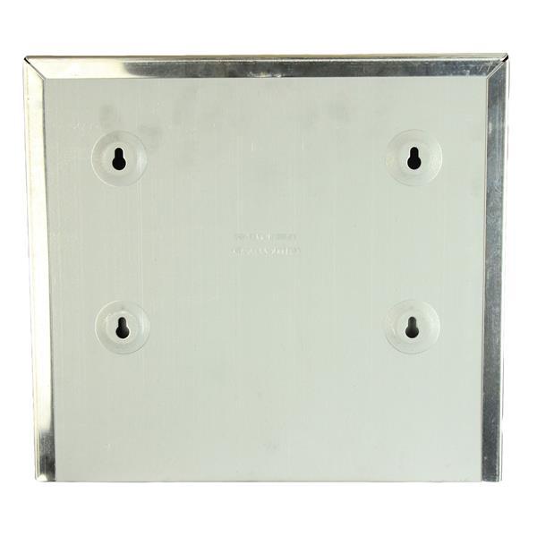 Distributeurs d'essuie-mains à plis simples/rouleau, chrome