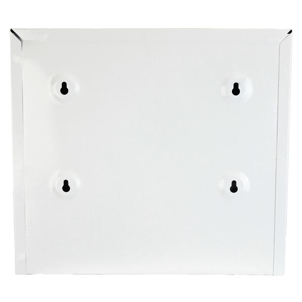 Distributeurs d'essuie-mains à plis simples/rouleau, blanc