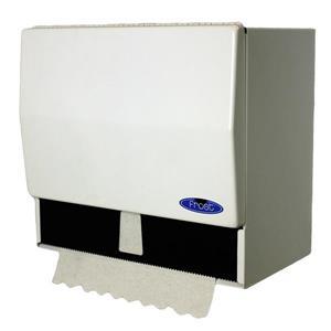 Frost Universal Paper Towel Dispenser - White