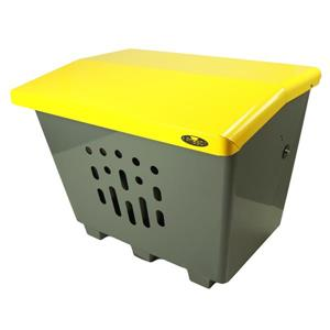 Grand bac de rangement extérieur, jaune