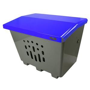 Grand bac de rangement extérieur, bleu
