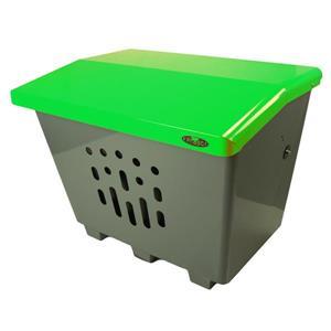 Grand bac de rangement extérieur, vert