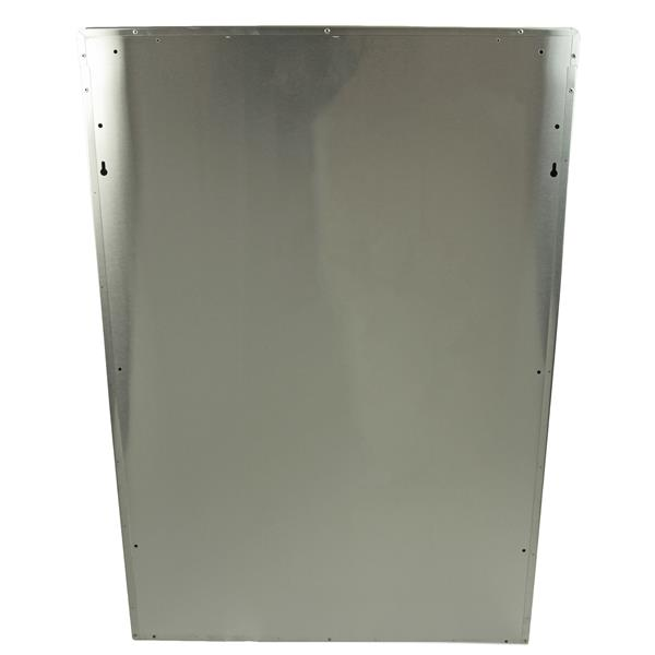 Recycling Station Wall Mount - Stainless Steel