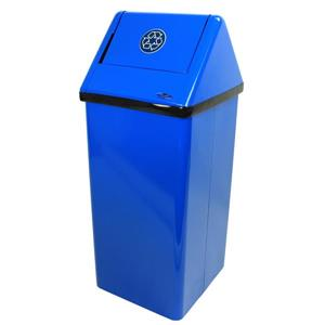 Récipiant de recyclage sur pied