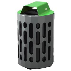 Poubelle Stingray, vert