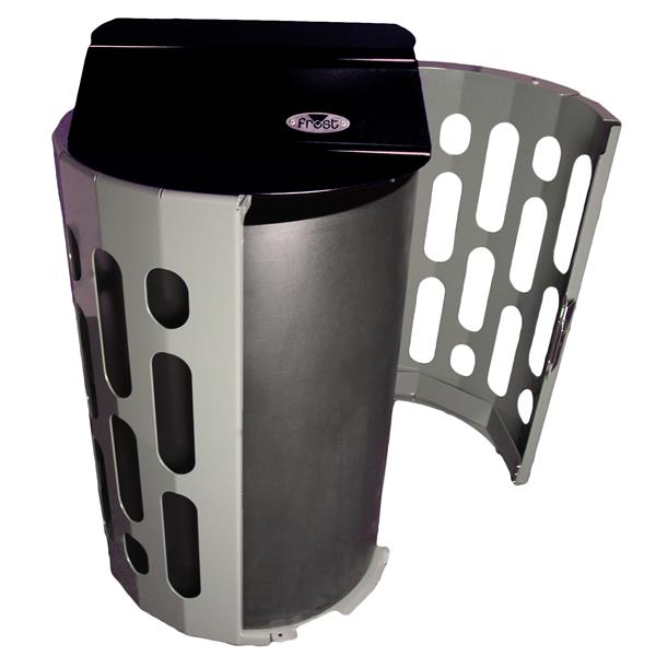 Frost Stingray Waste Receptacle - Black