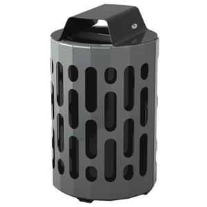 Stingray Waste Receptacle - Black
