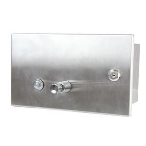 Frost Recessed Liquid Soap Dispenser