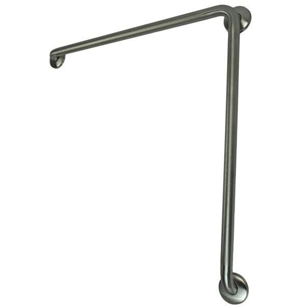 "Barre d'appui, 30""x30"", acier inoxydable"