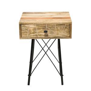 """Table de chevet Mosaic, 18"""" x 24"""", bois, naturel"""
